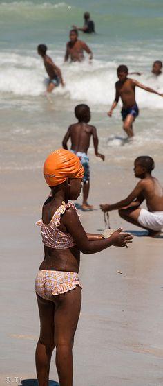 Child in Cape Town