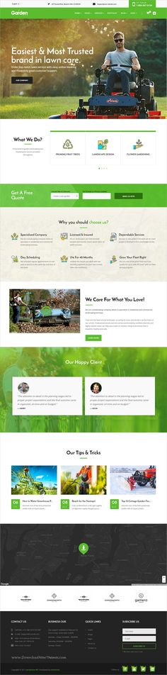GardenLove is clean and professional design 3in1 responsive #WP theme for #gardening and #landscaping service website download now➩ https://themeforest.net/item/gardenlove-gardening-landscaping-wordpress-theme/19692301?ref=Datasata