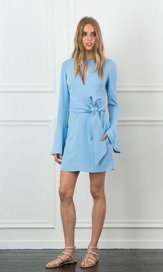 Rachel Zoe Matty Bell Sleeve Mini Dress