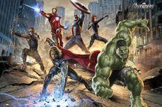 Avengers-Strike Prints - AllPosters.co.uk