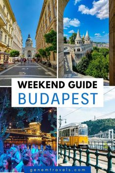 Planning a weekend in Hungary's capital Budapest? Awesome, great choice! Budapest in full of activities, landmarks and things to do. Like well-know architectural buildings, thermal spas and ruin bars. You just can't get enough with that chill vibe. Many places for photography, like Danube river, Citadel, Hero's square and more. Beautiful place in Hungary to spend a long weekend with full of activities. #budapest #hungary #guide Europe Travel Guide, Travel Abroad, Travel Guides, Travel List, Ireland Travel, Greece Travel, Places To Travel, Travel Destinations, Budapest Travel
