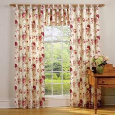 Waverly Norfolk Rose Drapes And Valance. I Have This Set... Thinking Of