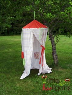 Play Tent Tutorial from 2 Little Hooligans