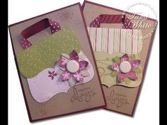 Top Note Purse Card - Stampin Up