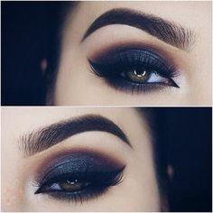 Dark eyes.