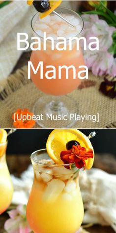 Bahama Mama is a sweet tropical cocktail that features coconut rum, orange juice, pineapple juice, touch of grenadine, and dark rum. This drink recipe is easy, sweet, and fruity. The perfect summer cocktail.#drink #cocktail #summerdrink #rumcocktails Alcoholic Drinks With Pineapple Juice, Coconut Rum Drinks, Mixed Drinks Alcohol, Fruity Drinks, Cocktail Recipes Pineapple Juice, Tropical Juice Recipe, Drinks With Grenadine, Sweet Alcoholic Drinks, Orange Juice Cocktails