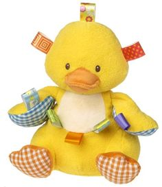 Mary Meyer Taggies Dipsy Plush Toy Duck *** Check out this great product.Note:It is affiliate link to Amazon.