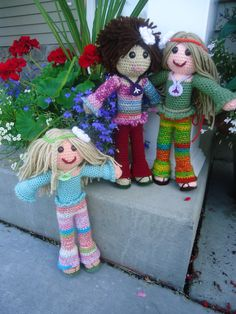 Hippie Chick Crochet pattern by BooLusBoutique on Etsy, $4.95