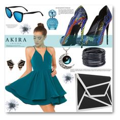 """akira 3"" by angelstar92 ❤ liked on Polyvore featuring Akira Black Label, Lust For Life, Akira, Quay, Balmain, Nak Armstrong, ABS by Allen Schwartz and Marc Jacobs"