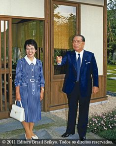 Sensei and Mrs Ikeda