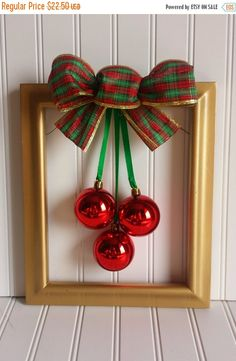 20% OFF Christmas Picture Frame Wreath