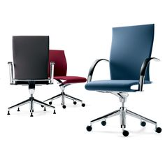 With Special Technology Of Leaf Springs Built Into The Seat And Back Ahrend 350 Office ManagementErgonomic ChairExecutive