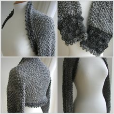 Holly Berry Shrug by Julia Marsh