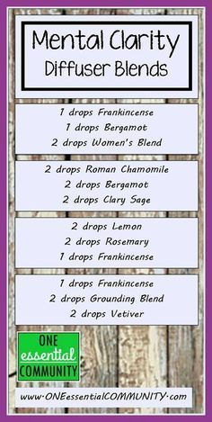 diy master blend essential oil recipes - Google Search