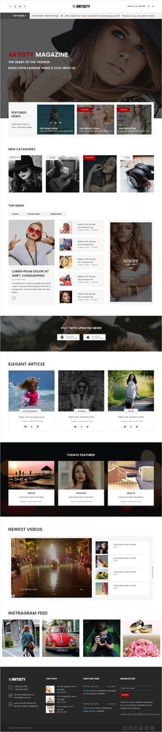 28 Best Magazine Website Redesign Images Magazine Website Web