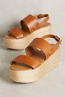 Kaanas Montpellier Platform Sandals