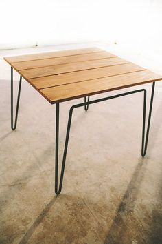 701 table cafe patio kitchen modern by petrifieddesign on Etsy, $775.00