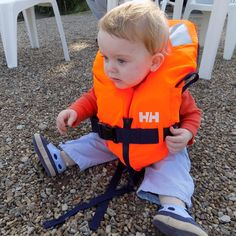 They're never too young to start sailing! Babies in life vests...so cute. Photo from @ kmarctaylor Instagram