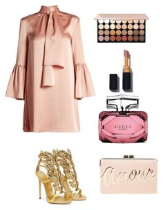 """Untitled #28"" by amilaalicic ❤ liked on Polyvore featuring Fendi, Giuseppe Zanotti, BCBGMAXAZRIA and Gucci"