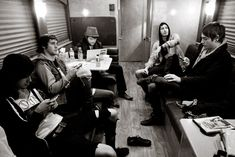 Asking Alexandria hanging on the bus pic by elmakias
