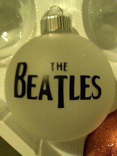 The Beatles Christmas ornament - 15 Really Cool Christmas Tree Ornaments