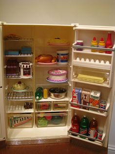 Barbie fridge