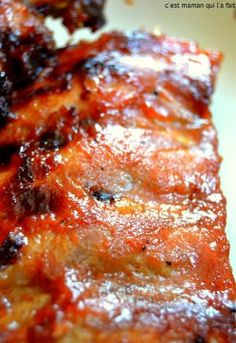 travers de porc marinés laqués bbq barbecue (3)
