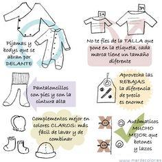 Excelentes consejos a la hora de escoger la ropa de nuestros bebés