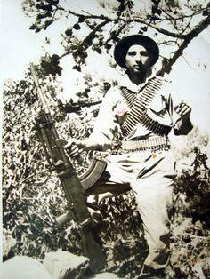 Turkish warrior in Cyprus 1974
