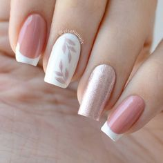 Pastel Nails, Cute Acrylic Nails, Pink Nails, Cute Nails, My Nails, Grow Nails, Glitter Nails, Pretty Nail Art, Dream Nails