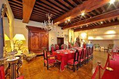 la salle à manger - château des Milandes (Dordogne)
