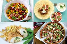 Low calorie meals: More than 160 family dinners under 500 calories 150 Mahlzeiten unter 500 Kalorien Breakfast Under 100 Calories, Meals Under 200 Calories, 600 Calorie Meals, Low Calorie Recipes, Diet Recipes, Cooking Recipes, Calorie Diet, Uk Recipes, Easy Recipes