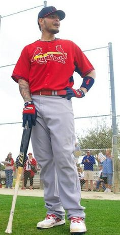 Spring training 2015 Yadi looking slim and ready to roll!