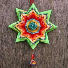 "Mandala ""stella d'estate"" - ojo de dios"