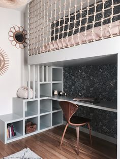 Discover recipes, home ideas, style inspiration and other ideas to try. Kids Bedroom Designs, Room Design Bedroom, Small Room Bedroom, Room Ideas Bedroom, Home Room Design, Art Deco Bedroom, Kids Room Design, Bedroom Loft, Bedroom Decor