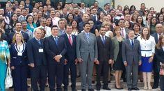<p>Chihuahua, Chih.- Durante el evento de inauguración del XLV Congreso y Asamblea Nacional de la Federación Mexicana de Colegios de Abogados