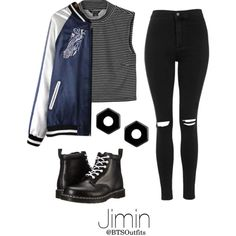 A fashion look from March 2016 featuring Monki tops, Topshop jeans and Dr. Martens ankle booties. Browse and shop related looks.