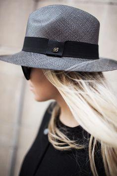 Balmuir hand made Panama hat in grey