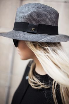 Balmuir hand made Panama hat in grey colour featured in www.lindajuhola.com