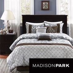 Madison Park Winchester 7-piece Comforter Set | Overstock.com Shopping - Great Deals on Madison Park Comforter Sets