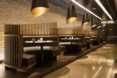 Details of the overall and category winners, and images of the winning projects, from the sixth year of the Restaurant and Bar Design Awards in Restaurant Design, Deco Restaurant, Luxury Restaurant, Restaurant Lighting, Restaurant Concept, Design Café, Cafe Design, Cafe Bar, Casas Club