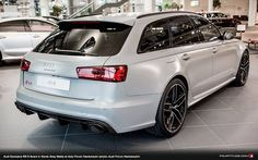 Audi Exclusive RS 6 Avant in Nardo Grey Matte (photo: Audi Forum Neckarsulm)