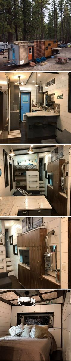 """The Empty Nester; the tiny house voted """"Best in Show"""" at the 2017 Colorado Tiny House Festival"""