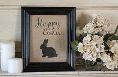 GroopDealz | Easter Burlap Prints