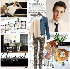 """Colton Haynes"" by mars ❤ liked on Polyvore"