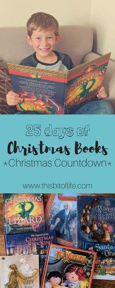 25 Days of Christmas Books- Christmas Countdown - This Bit of Life Christmas Books For Kids, 25 Days Of Christmas, Christmas Countdown, Christmas Projects, Christmas Ornaments, Kids Reading, Reading Books, Advent Activities, Christmas Cocktails