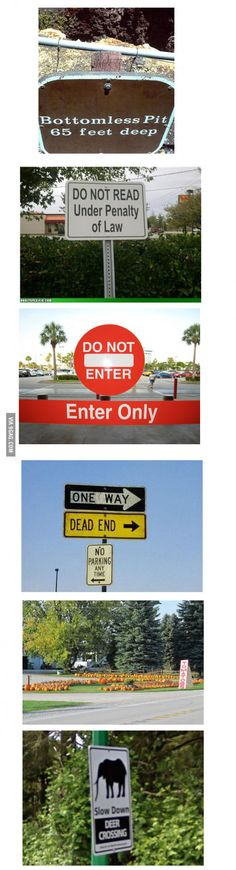 Stupidity Level : Signs (Mix People Funny)
