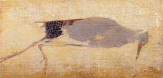 Jan Mankes ( 1889 - 1920 ) dood vogeltje met judaspenning