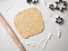 The Very Best Rolled Sugar Cookies: Break out those cookie cutters, it's sugar cookie time! Thanks to a secret ingredient (coconut oil) my version is particularly rich. Coconut oil and a higher proportion of sugar improve the shelf life of rolled sugar cookies, so you know they won't go stale when boxed up as a holiday gift. #StellaParks #BraveTart