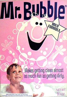Mr. Bubble bath soap